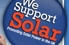 we support solar graphic